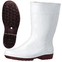 ミドリ安全 2130004006 耐滑抗菌長靴ハイグリップ HG2000Nスーパー白 23.5cm 1足 (直送品)