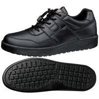 ミドリ安全 2125077404 超耐滑軽量作業靴ハイグリップ Hー711N 黒22.5cm 1足 (直送品)