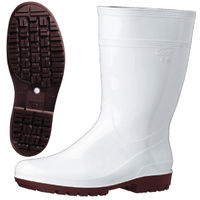 ミドリ安全 2130004014 耐滑抗菌長靴ハイグリップ HG2000Nスーパー白 27.5cm 1足 (直送品)