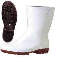 ミドリ安全 2130004208 ハイグリップ 長靴 HG2100Nスーパー 白24.5cm 1足 (直送品)