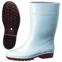 ミドリ安全 2130006006 耐滑抗菌長靴ハイグリップ HG2000Nスーパー青 23.5cm 1足 (直送品)