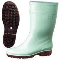 ミドリ安全 2130006508 耐滑抗菌長靴ハイグリップ HG2000Nスーパー緑 24.5cm 1足 (直送品)