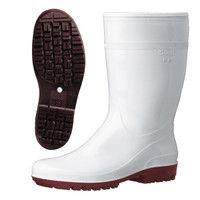 ミドリ安全 2130004605 耐滑抗菌長靴ハイグリップHG2000Nスーパー防寒 白 23.0cm 1足 (直送品)