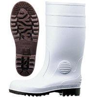 ミドリ安全 2140001112 安全長靴 ワークエース W1000スーパー 白26.5cm 1足 (直送品)