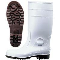 ミドリ安全 2140001113 安全長靴 ワークエース W1000スーパー 白27.0cm 1足 (直送品)