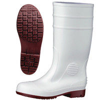 ミドリ安全 2140004006 耐滑抗菌安全長靴ハイグリップ HG1000スーパー白 23.5cm 1足 (直送品)