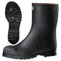 ミドリ安全 2141000109 安全長靴 先芯入り 913裏付 黒 25.0cm 1足 (直送品)