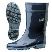 ミドリ安全 2130100208 ハイグリップ 長靴 HG2000Nスーパー 静電ダークブルー 24.5cm 1足 (直送品)
