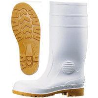 ミドリ安全 2140000108 安全長靴 先芯入り W1000 白 24.5cm 1足 (直送品)