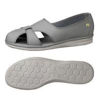 ミドリ安全 作業靴 静電 サンダル PS01S 大 先芯なし 29.0cm グレイ 1足 2100000902(直送品)