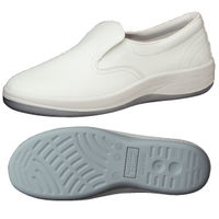 ミドリ安全 2100107004 静電作業靴 エレパス SU401 白 22.5cm 1足 (直送品)