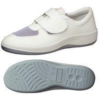ミドリ安全 2100107410 静電作業靴 エレパス SU403 白 25.5cm 1足 (直送品)