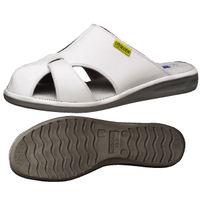 ミドリ安全 2100111003 静電作業靴 エレパスクールライトN 白 M 1足 (直送品)