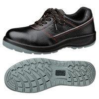 ミドリ安全 2125080007 先芯入り作業靴 デサフィオ DSFー01 黒紐タイプ 24.0cm 1足 (直送品)