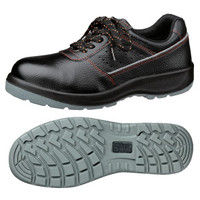 ミドリ安全 2125080010 先芯入り作業靴 デサフィオ DSFー01 黒紐タイプ 25.5cm 1足 (直送品)