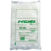 ナイロンポリ TLタイプ ポリ袋(規格袋) 20-30 200mm×300mm 1袋(100枚入) 福助工業