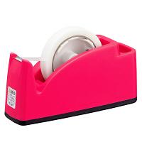プラス テープカッター ピンク