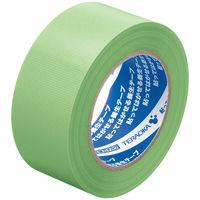 寺岡製作所「現場のチカラ」 貼ってはがせる養生テープ 1901 若葉色 幅50mm×50m巻