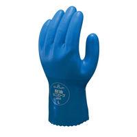 塩化ビニール製手袋 簡易包装耐油ビニローブ L 5双 「現場のチカラ」 650 ショーワグローブ