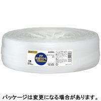 「現場のチカラ」 PP荷造りひも チーズ巻 1000m 白 PPCHSE1000 1巻 アスクル