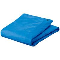 「現場のチカラ」 ブルーシート 厚手(#3000タイプ) 3.6×5.4 プラハトメ