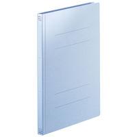 フラットファイル PPラミネート A4タテ 10冊 ロイヤルブルー アスクル