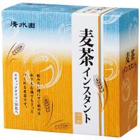 清水園 麦茶インスタント 1箱(30包入)