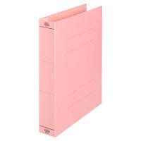 プラス フラットファイル厚とじ500 A4タテ ピンク 87988 1袋(10冊入)