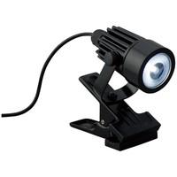 防雨型3W白色LEDクリップライト 黒 1個 ヤザワコーポレーション