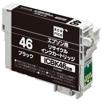 エコリカ リサイクルインク ECI-E46B ブラック(エプソン ICBK46互換)