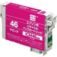 エコリカ リサイクルインク ECI-E46M マゼンタ(エプソン ICM46互換)
