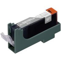 エコリカ リサイクルインク ECI-C321GY グレー(キヤノン BCI-321GY互換)
