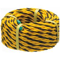 標識ロープ トラロープ 1巻(20m巻) まつうら工業