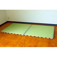 広浜 すのこ畳ベッド 和紙グリーン HSTB196/960-WGR (直送品)