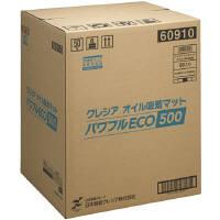日本製紙クレシア クレシア オイル吸着マット パワフルエコ500 60910 1箱(50枚入) (取寄品)