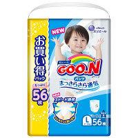 グーン パンツ L(9~14kg) 1パック(56枚入) やわらかパンツ 男の子用 大王製紙