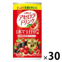 サントリー アセロラドリンク 190g 1箱(30缶入)