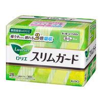 【ナプキン】【しっかり昼用】【羽つき】【20.5cm】ロリエ Speed+スリムガード 1パック(28枚入) 花王