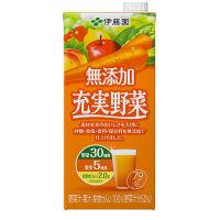 伊藤園 無添加 充実野菜 1箱(6本入)