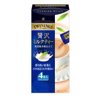 トワイニング 贅沢ミルクティー 014635 1セット(4本入×4箱)