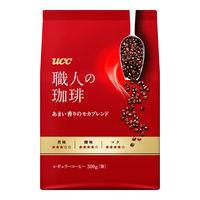 【コーヒー粉】UCC上島珈琲 職人の珈琲 あまい香りのモカブレンド 1袋(300g)