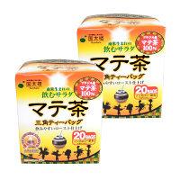 国太楼 マテ茶三角ティーバッグ 2個(1個20袋入×2) 1セット お茶