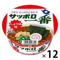 サンヨー食品 サッポロ一番 しょうゆ味どんぶり 4901734007142 1箱(12食入)