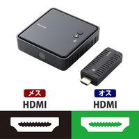 ロジテック HDMI無線伝送システム 送受信ユニット ブラック LDE-WHDI202TR (取寄品)