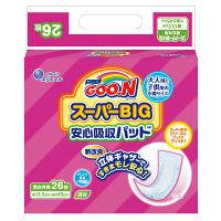 グーン スーパーBIG(15~35kg) 1パック(26枚入) スーパーBIG 安心吸収パッド 大王製紙