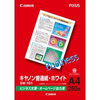 キヤノン 普通紙・ホワイト A4 SW-101 1冊(250枚入)