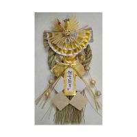 金色飾り 潤 しめ飾り長型 KR-07 神明堂