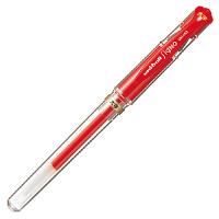 三菱鉛筆(uni) ゲルインクボールペン シグノ太字 1.0mm 赤 UM153.15 1箱(10本入) (直送品)