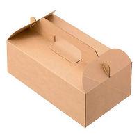ケーキボックス 未晒し LL 1箱(200枚:50枚入×4袋)