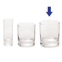 アルコロック イスランド オールドグラス 300ml 1箱(48個:6個入×8箱)